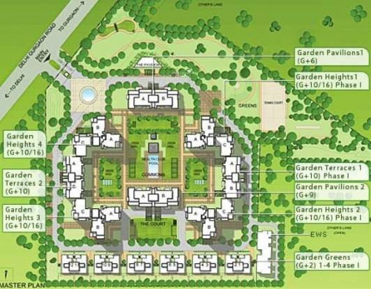 Alpha Gurgaon One 22 Master Plan