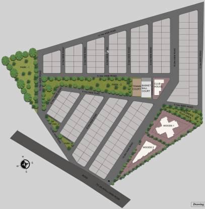 Renaissance Woods Site Plan
