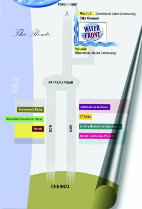City Waterfront Location Plan