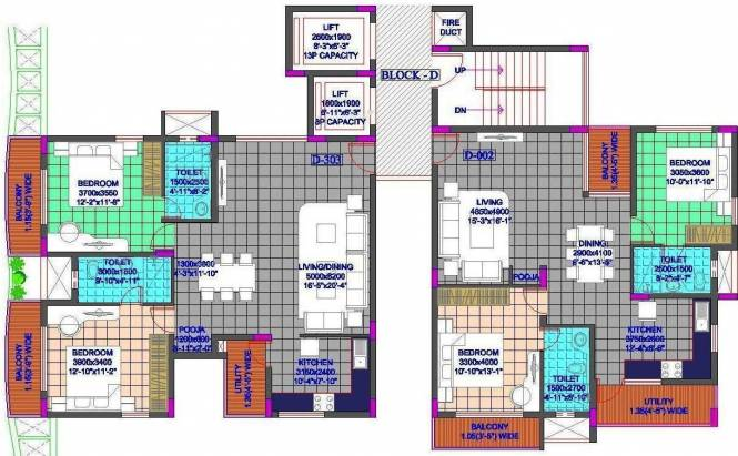 GR Heights Cluster Plan