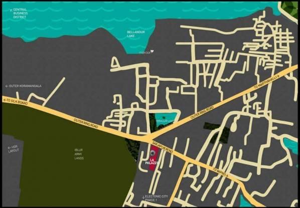 KMB La Palazzo Location Plan
