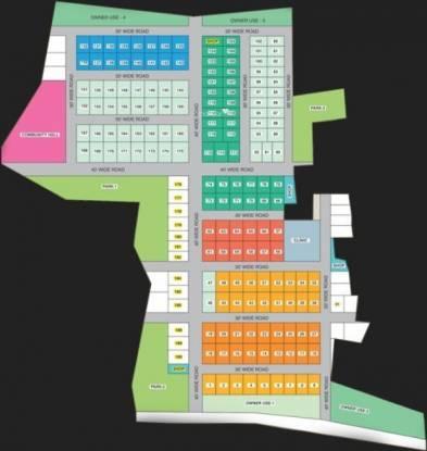 Malles Skandavanam Layout Plan