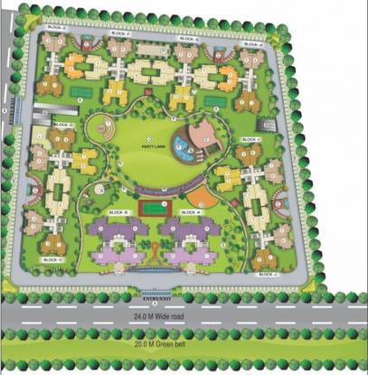 VVIP Homes Layout Plan