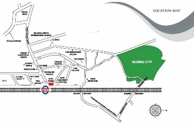 Raj Shree Shashwat Location Plan