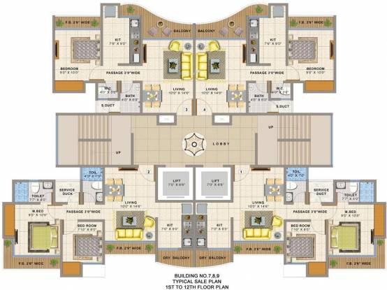 Sai Balaji Atlanta Edenworld Cluster Plan