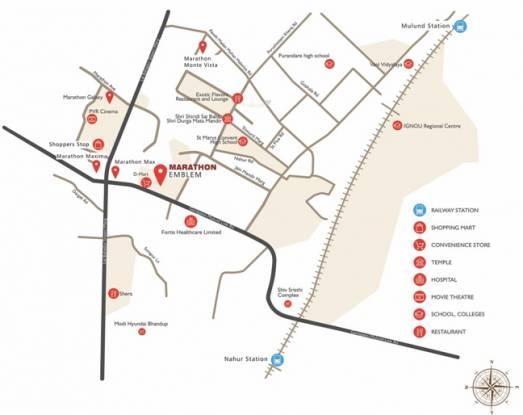 Marathon Emblem Location Plan