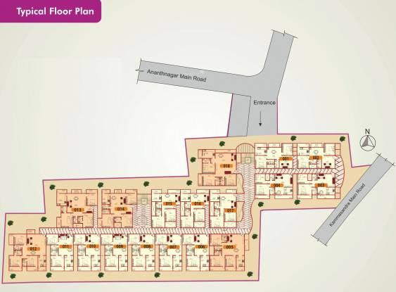 Vmaks Rangoli Cluster Plan