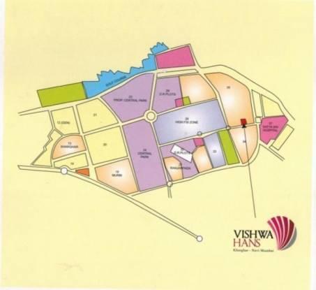 Vishwa Hans Location Plan