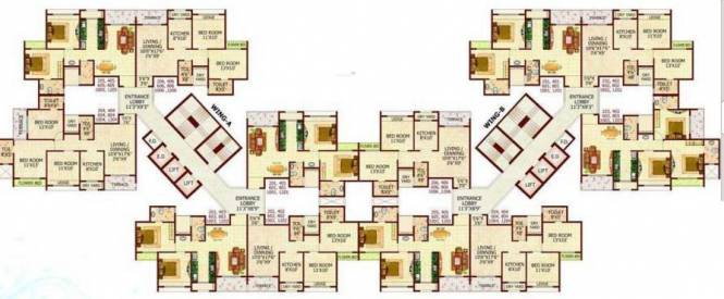 MP Balaji Aangan Cluster Plan