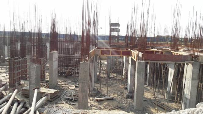Oasis Grandstand Construction Status