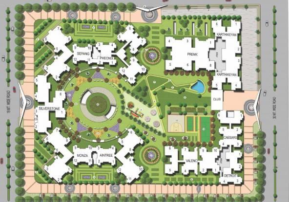 Oasis Grandstand Site Plan
