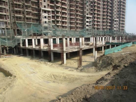 Ashiana Landcraft The Center Court Construction Status