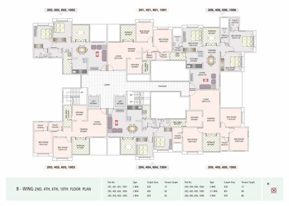 Karan Bella Vista Cluster Plan