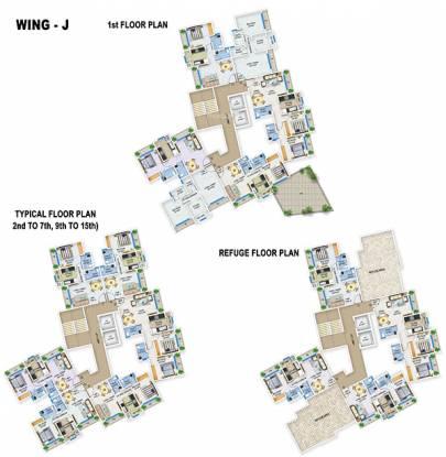 Bhoomi Acropolis Cluster Plan
