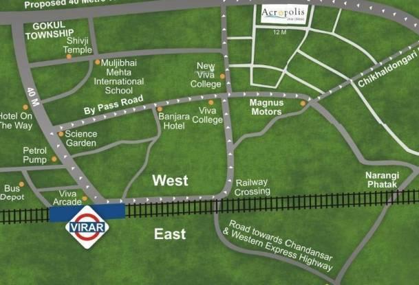 Bhoomi Acropolis Location Plan