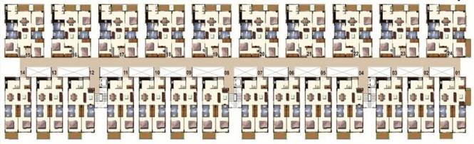 Vijaya SpringWoods Cluster Plan