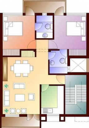 Ansal Flexi Homes Cluster Plan