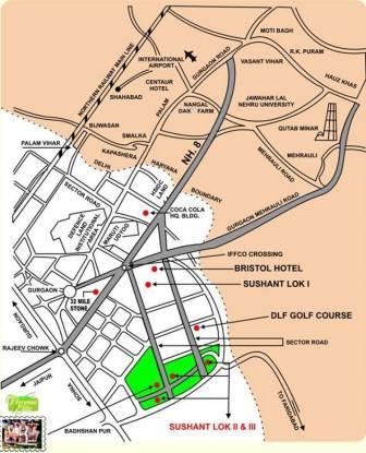 Ansal Florence Elite Location Plan