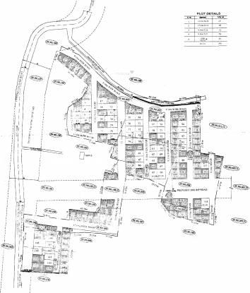 Peninsula Prakruthi Layout Plan