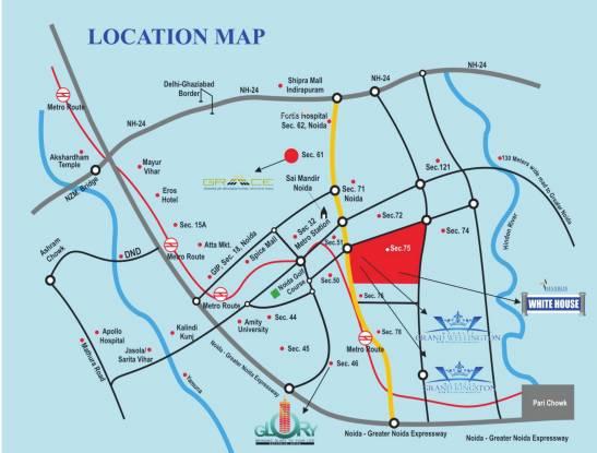 Maxblis White House II Location Plan