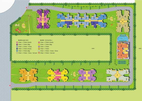 Maxblis White House II Site Plan
