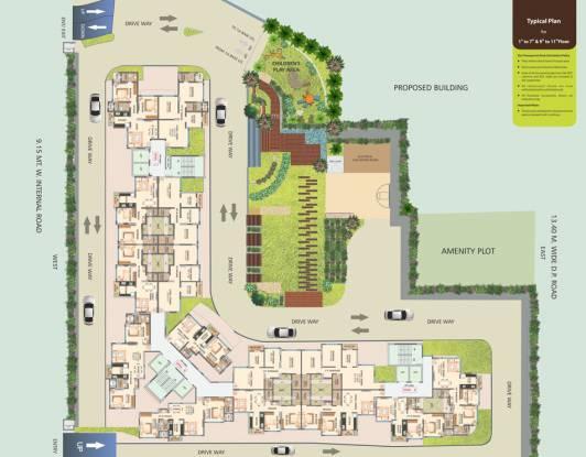 DSK Madhukosh Cluster Plan