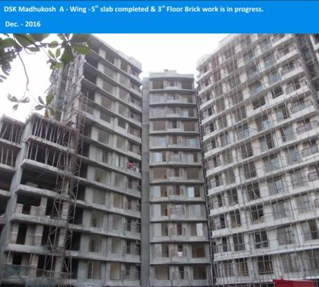 DSK Madhukosh Construction Status