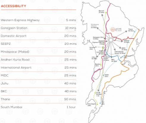 ACME Hills Location Plan