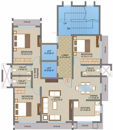 Shamiks Virmati Villa CHS Ltd Cluster Plan