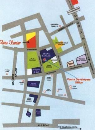 Veena Santoor Phase II Location Plan