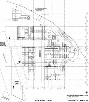 Silverglades Merchant Plaza Cluster Plan