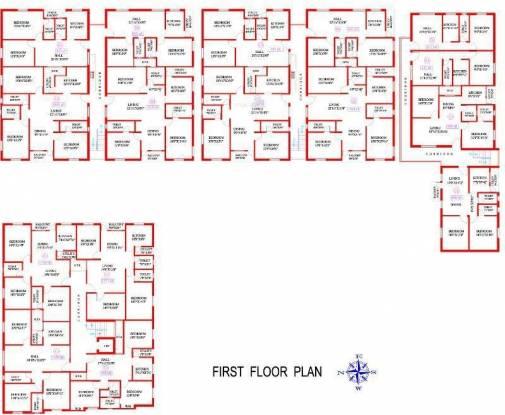 Antony Coral Sands Cluster Plan