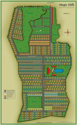 Garnet Magic Hills Layout Plan
