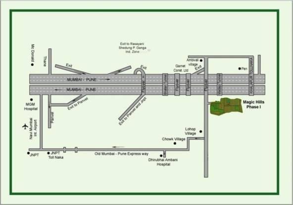 Garnet Magic Hills Location Plan