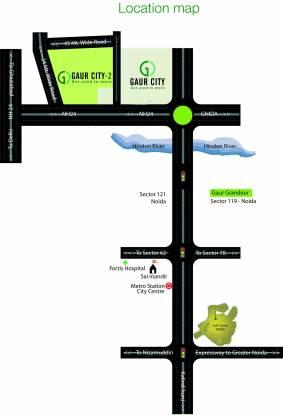 Gaursons 11th Avenue Location Plan