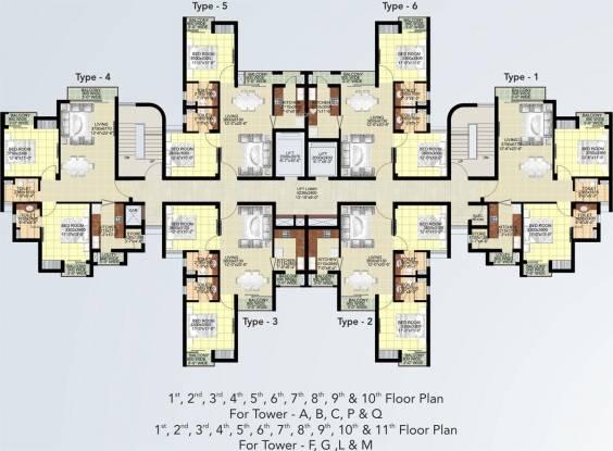 Ansal Paradise Crystal Cluster Plan