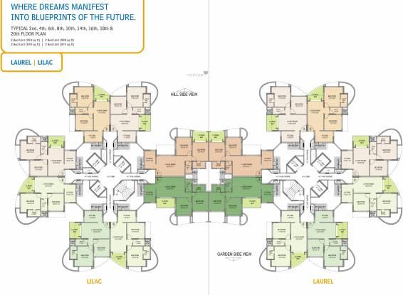 Nahar Laurel and Lilac Cluster Plan