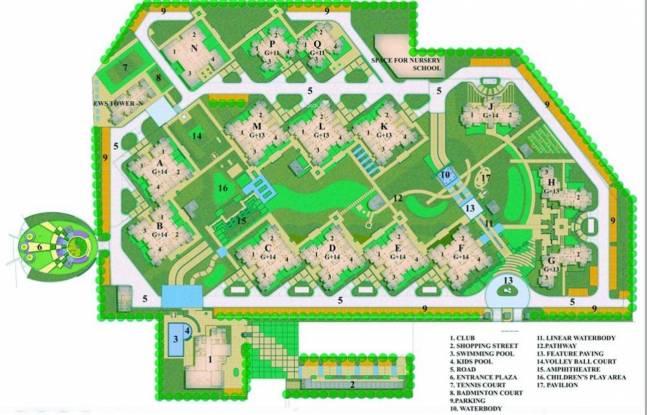 BPTP Park Grandeura Layout Plan