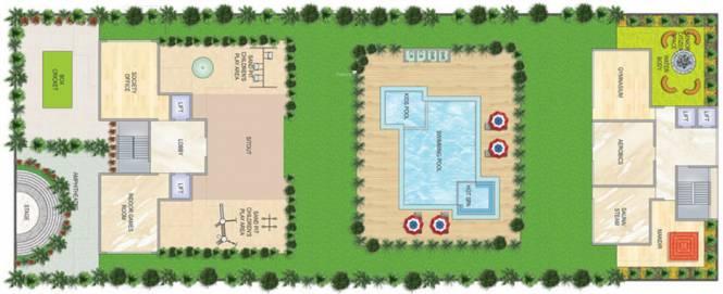 Akshar Greystone Site Plan