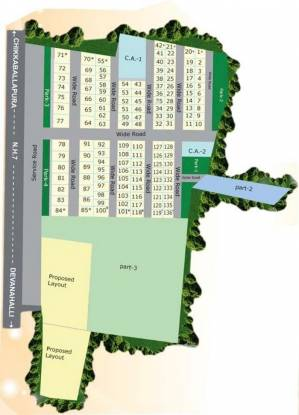 Maxworth Nandana Residency Layout Plan