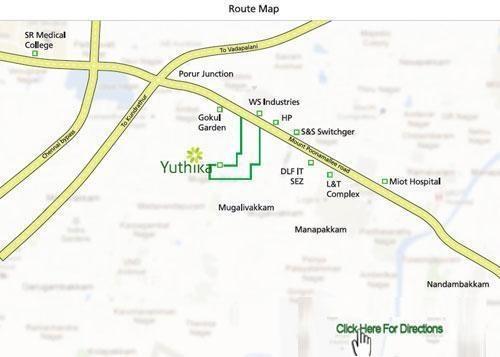 Kaaviya Yuthika Location Plan