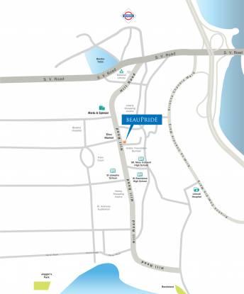Sheth Beau Pride Location Plan