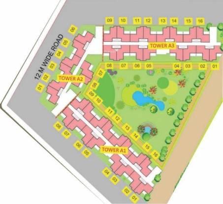 Supertech Golf Suites Layout Plan