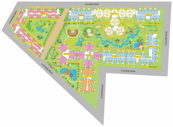 Supertech Golf Suites Site Plan