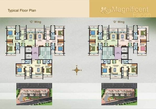 Raj Lifestyle Cluster Plan