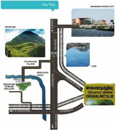 Green Mountain Stream Enclave Location Plan