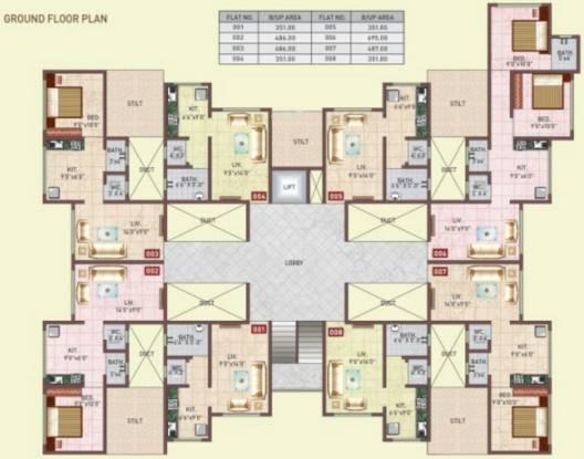 Panvelkar Vrindavan Cluster Plan
