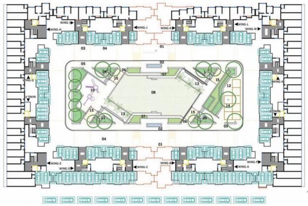 Sumit Greendale Cluster Plan