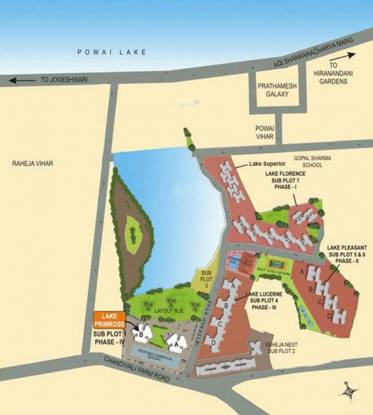Supreme Lake Lucerne Layout Plan