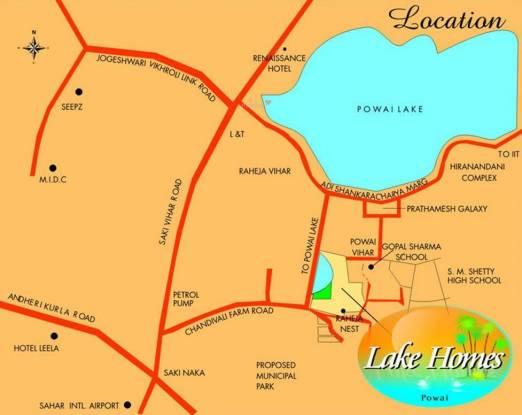 Supreme Lake Pleasant Location Plan